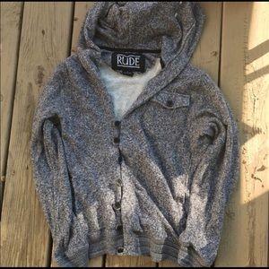 Rude sweater jacket